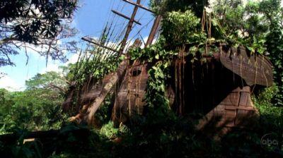 Il veliero abbandonato sull'isola di Lost