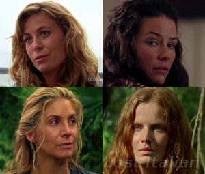 Le donne della prima puntata